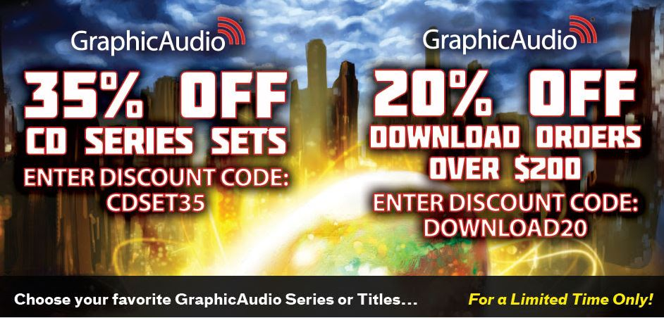 GraphicAudio sale